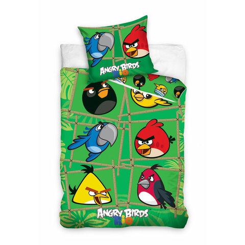 Dětské bavlněné povlečení 140x200 Angry Birds - Rio