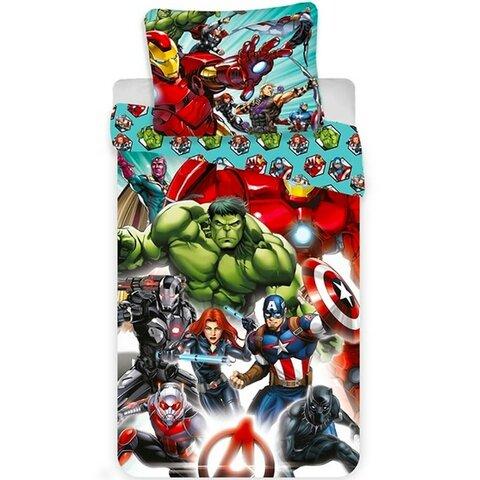 Dětské bavlněné povlečení 140x200 Avengers
