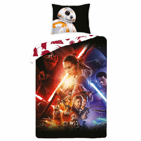 Dětské bavlněné povlečení 140x200 Star Wars