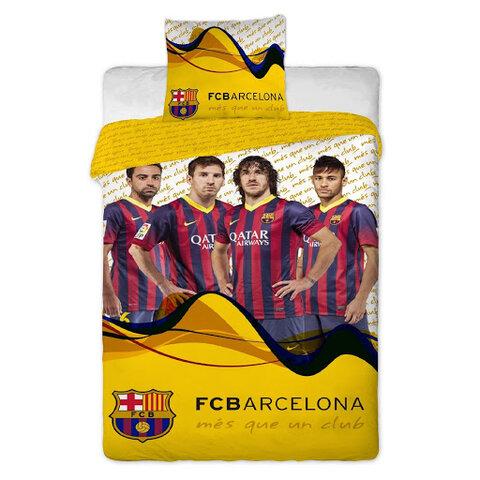 Dětské bavlněné povlečení FCBarcelona 140x200