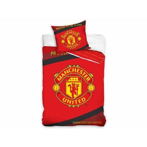 Dětské bavlněné povlečení Manchester United 140x200