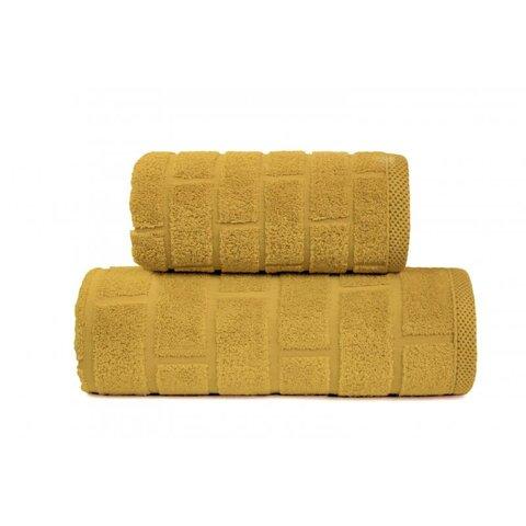Osuška Brick 70x140 žlutá
