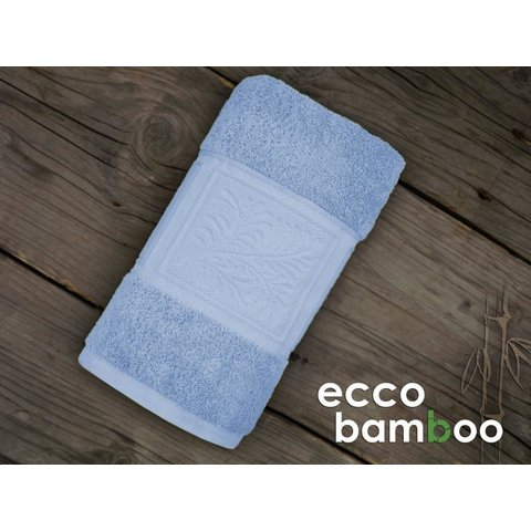 Osuška Ecco Bamboo 140x70 Luxus světle modrá