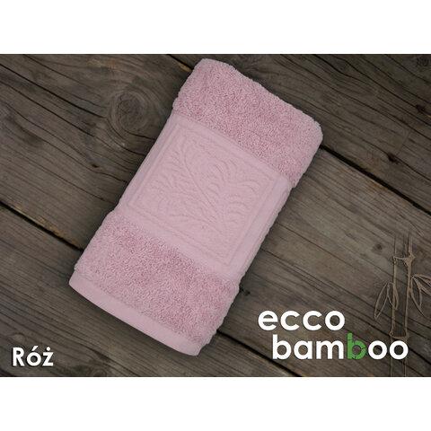 Osuška Ecco Bamboo 140x70 Luxus světle růžová