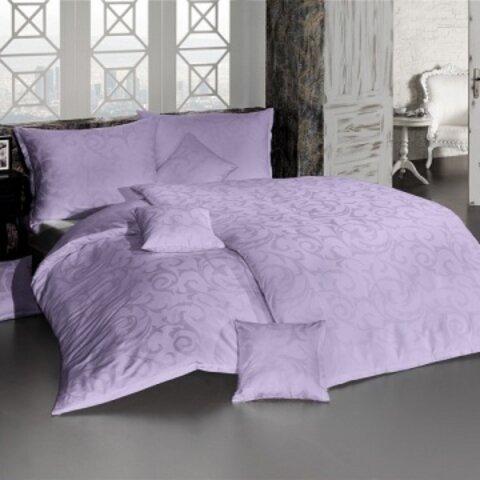 Povlečení Lolita fialová damašek 140x200+70x90