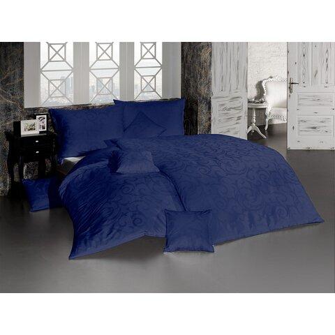 Povlečení Lolita tmavě modrá damašek 140x200+70x90