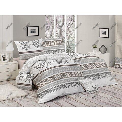 Povlečení Snow 140x200 bavlna Deluxe