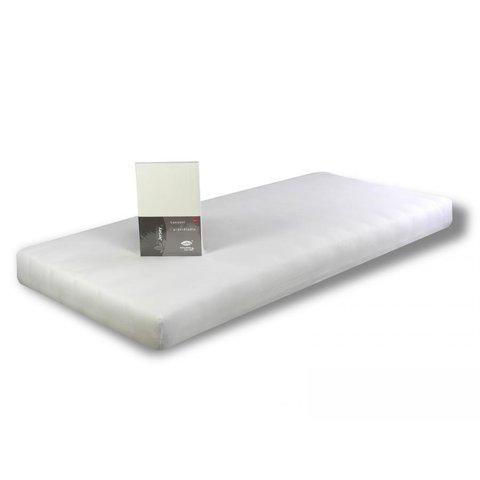 Prostěradlo Jersey 100x220 bílé s elastanem napínací LeRoy