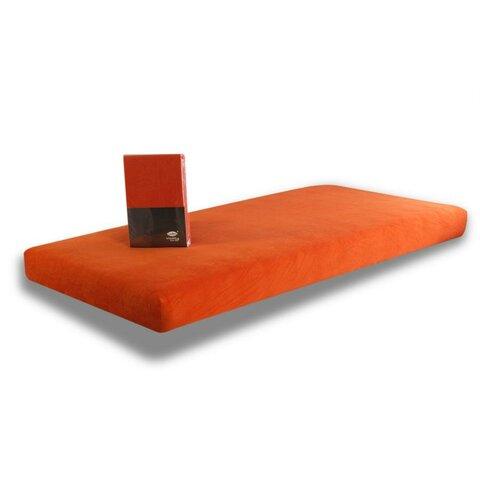 Prostěradlo Jersey 100x220 červená cihla s elastanem napínací LeRoy