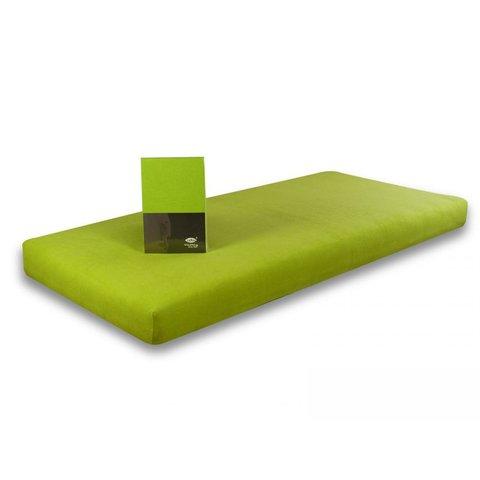 Prostěradlo Jersey 120x200 zelená limeta s elastanem napínací LeRoy