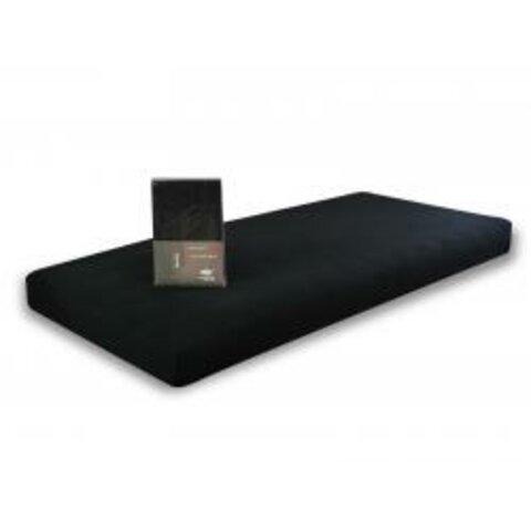 Prostěradlo Jersey 160x200 černá s elastanem napínací LeRoy
