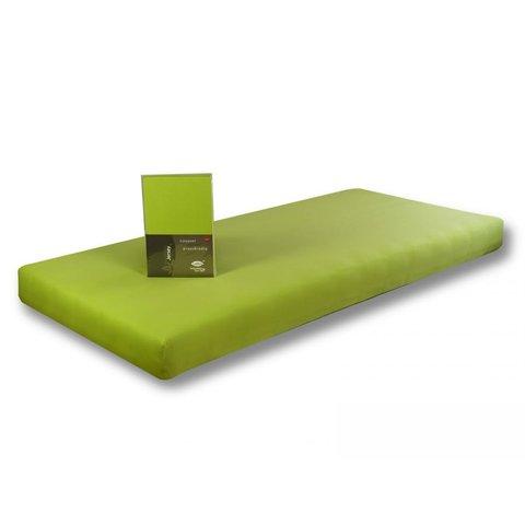 Prostěradlo Jersey 160x200 zelená limetka s elastanem napínací LeRoy