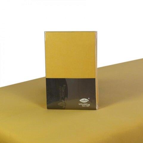 Prostěradlo Jersey 160x200 žlutá banánová s elastanem napínací LeRoy