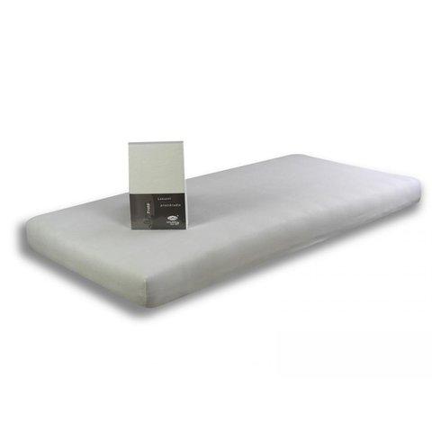 Prostěradlo Jersey 160x200x30 bílé s elastanem napínací LeRoy