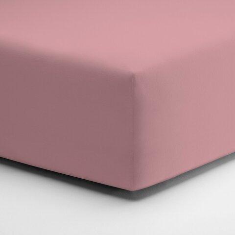 Prostěradlo Jersey 90x190-100x220x25 154 Steinrosa elastan Schlafgut