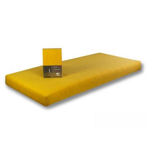 Prostěradlo Jersey 90x200 tmavě žlutá s elastanem napínací LeRoy