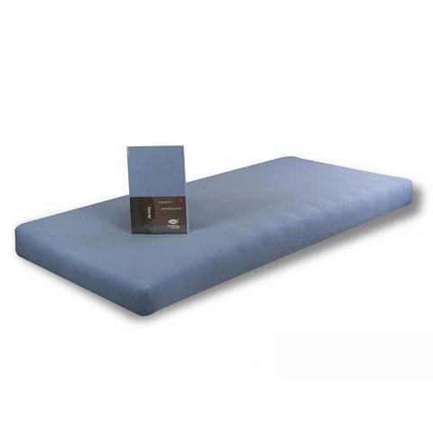Prostěradlo Jersey BA 100x220 sv. modrá 100% bavlna