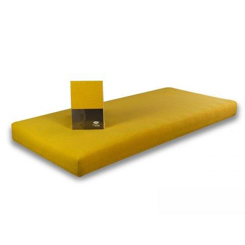 Prostěradlo Jersey BA 100x220 tmavě žlutá 100% bavlna