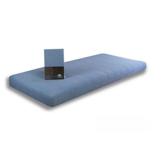 Prostěradlo Jersey CA 90x200 světle modrá 100% bavlna