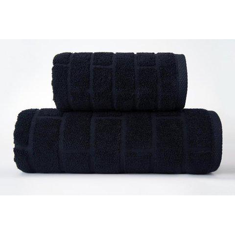 Ručník Brick 50x90 černý