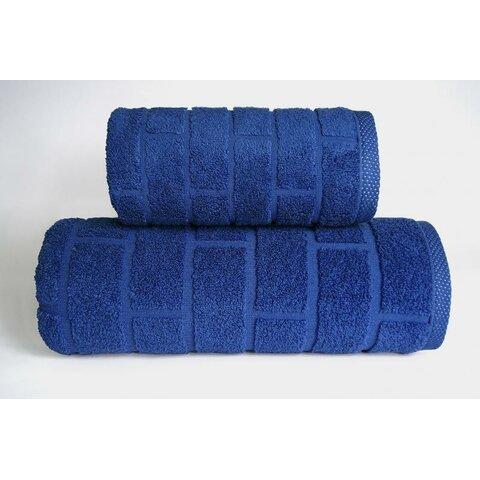 Ručník Brick 50x90 denim modrá