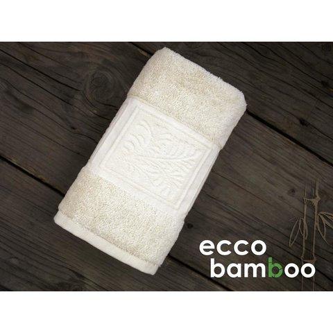 Ručník Ecco Bamboo 50x90 Luxus smetanová