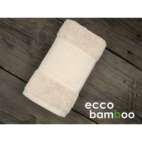 Ručník Ecco Bamboo 50x90 Luxus světle béžová