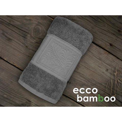 Ručník Ecco Bamboo 50x90 Luxus světle šedá