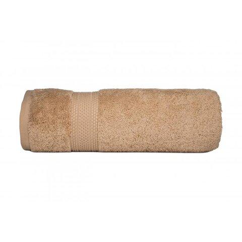 Ručník egyptská bavlna 50x90 světle béžová