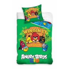 Dětské bavlněné povlečení 140x200 Angry Birds - Wingin it