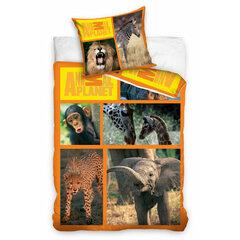 Dětské bavlněné povlečení 140x200 Animal Planet
