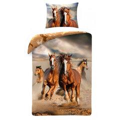 Dětské bavlněné povlečení 140x200 Horses