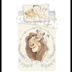 Dětské bavlněné povlečení Lví Král 1x100x135, 1x40x60