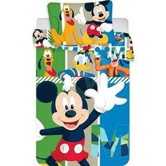 Dětské bavlněné povlečení Micky Mouse 100x135