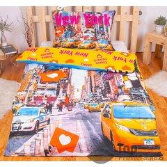 Dětské bavlněné povlečení Times Square 140x200