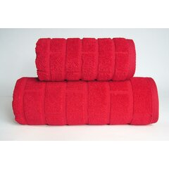 Osuška Brick 70x140 červená