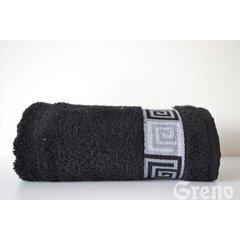 Osuška Dunaj 70x140 černá