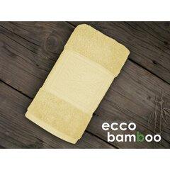 Osuška Ecco Bamboo 140x70 Lusux žlutá