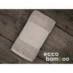 Osuška Ecco Bamboo 140x70 Luxus světle šedá
