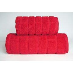 Ručník Brick 50x90 červená