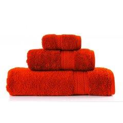 Ručník egyptská bavlna 50x90 oranžová