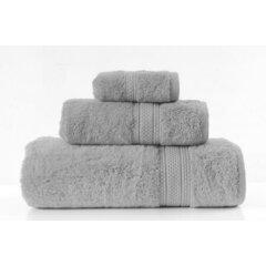 Ručník egyptská bavlna 50x90 šedá