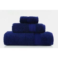 Ručník egyptská bavlna 50x90 tmavě modrá
